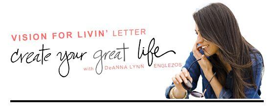 Vision For Livin' Letter - August 2015
