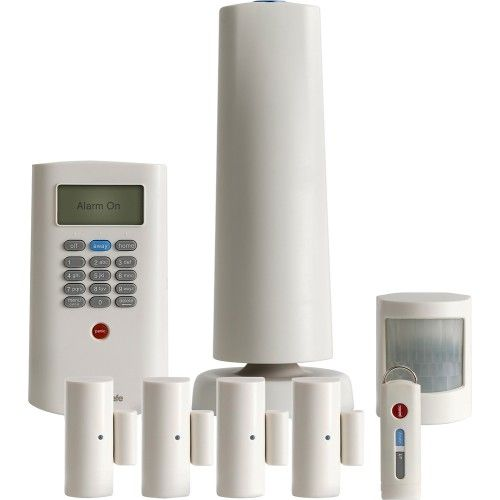 SimpliSafe Protect Home Security System White Front