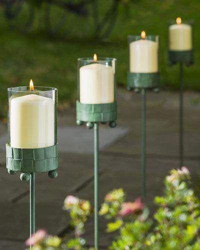 Delicieux Outdoor Garden Candle Stakes #garden #outdoor #outdoordecor #affiliate  #outdoorgardening