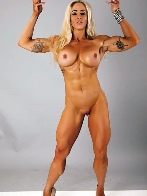 sexy muscle girls nude