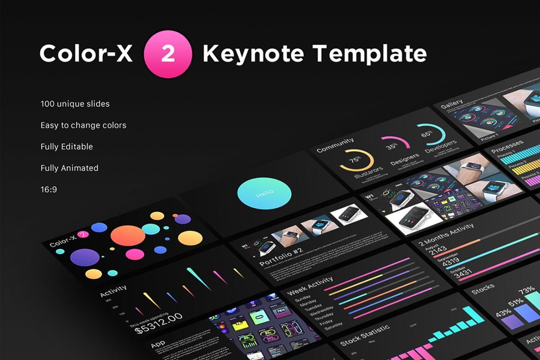 Color x 2 keynote template by yuriykondratkov on envato elements color x 2 keynote template by yuriykondratkov on envato elements toneelgroepblik Images