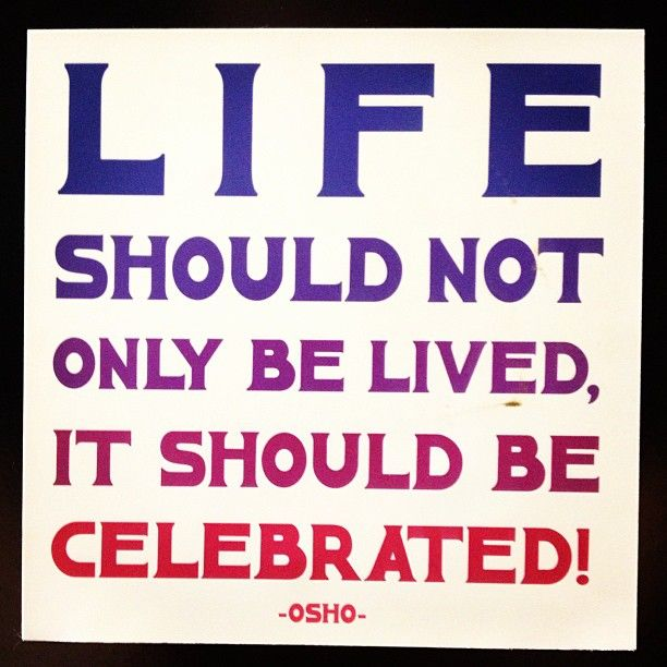 Superior Life Should Not Only Be Lived, It Should Be Celebrated!