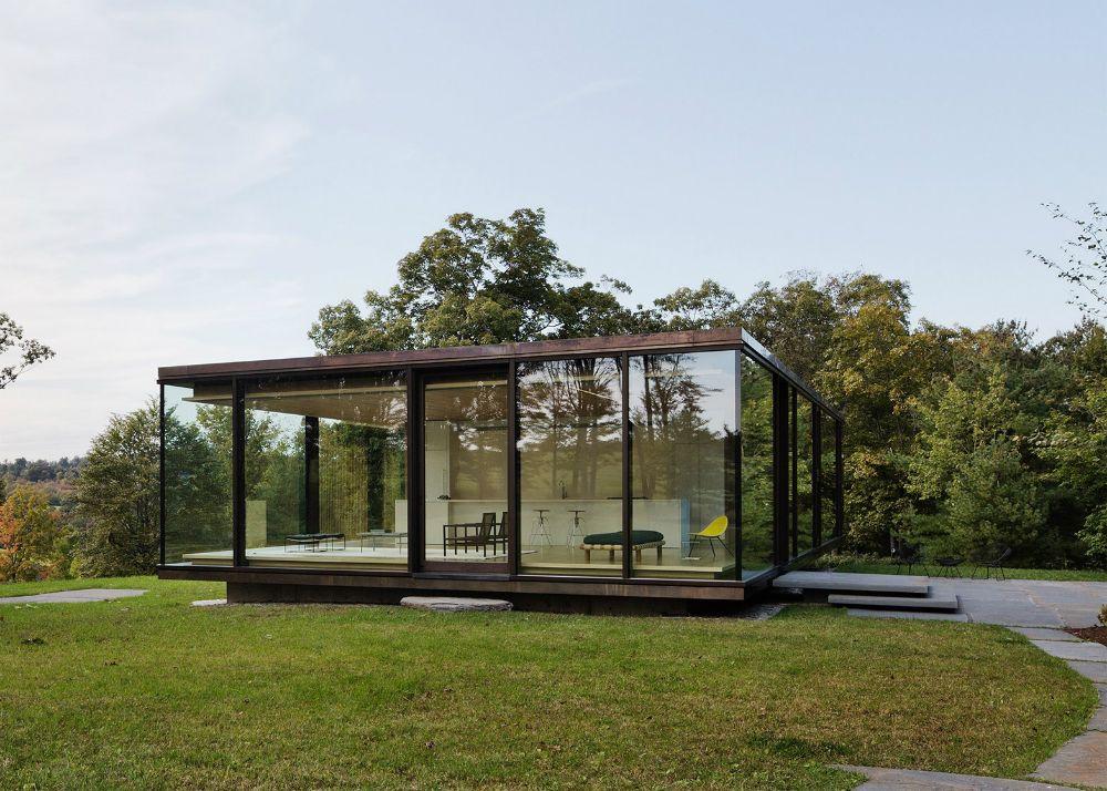 Brilliant Glass Retreat By Desai Chia Arthitecture Home Decor Download Free Architecture Designs Ferenbritishbridgeorg