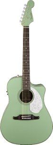 Fender Sonoran Sce Surf Green Acoustic Electric Guitar Musical Instruments Acoustic Electric Guitar Acoustic Electric Guitar