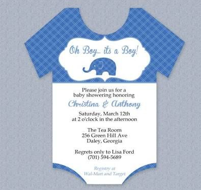 Image Result For Baby Onesie Template For Baby Shower Invitations