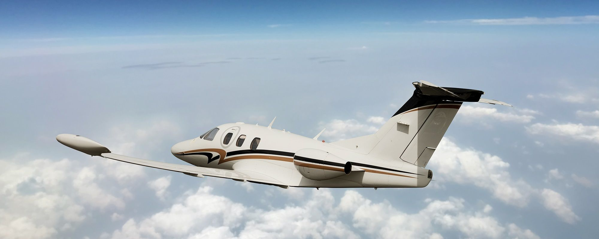 The Eclipse 500 is a four-passenger very light jet designed