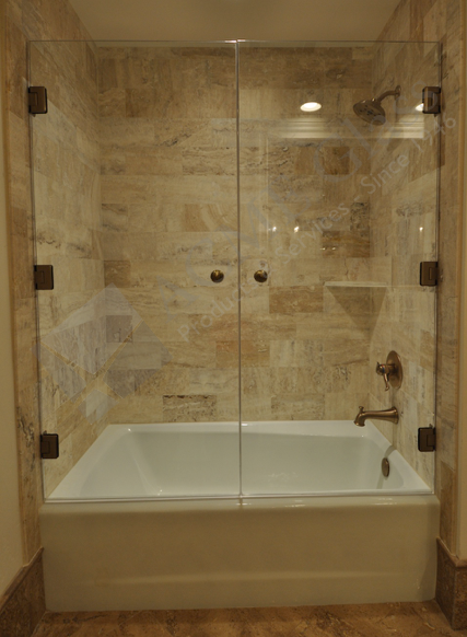 The Serenity Has A Pair Of 3 8 Showerguard Tempered Safety Glass Doors With Brushed Bronze Fi Guest Bathroom Remodel Bathroom Remodel Master Restroom Decor
