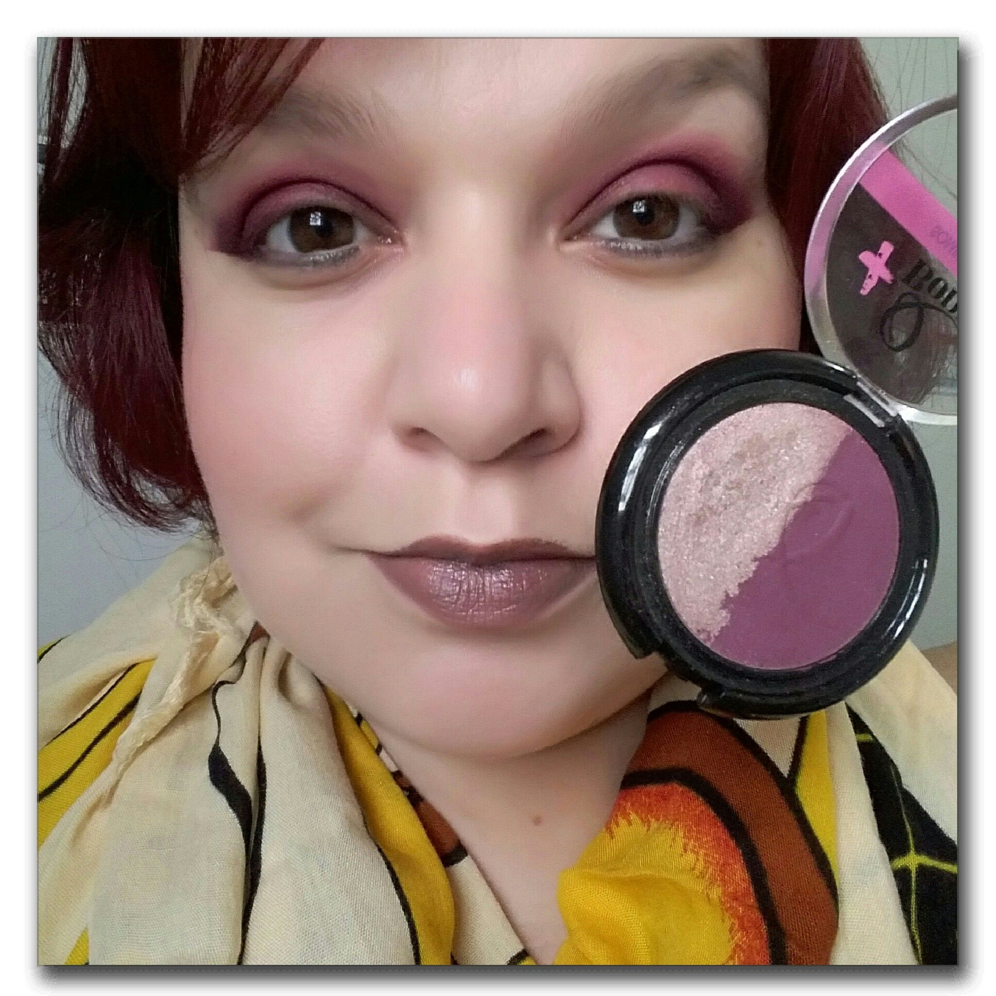 Mais q bonita makeup
