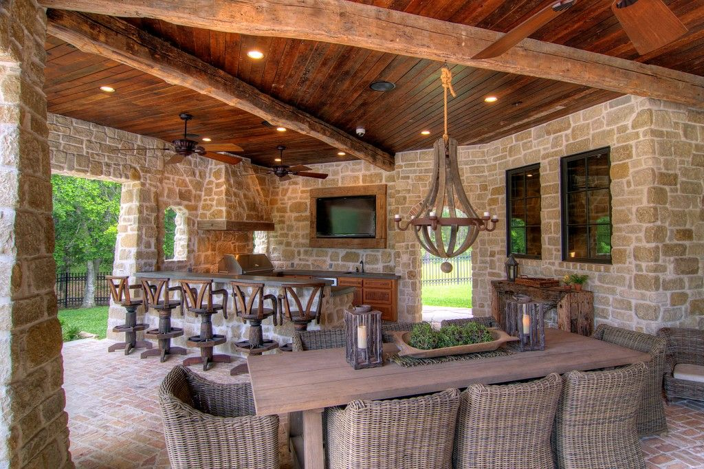 Extend the Outdoor Living Season | Oakland County Real ... on Farmhouse Outdoor Living Space id=54451