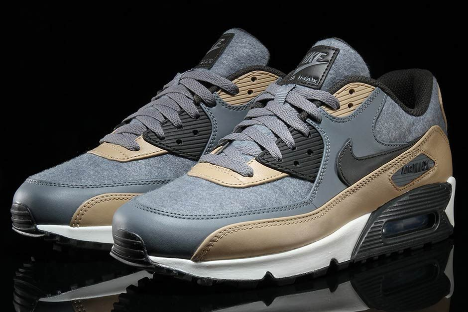 best service c9522 f7b60 usa this fall ready nike air max 90 comes with premium hits of wool 8b298  21330