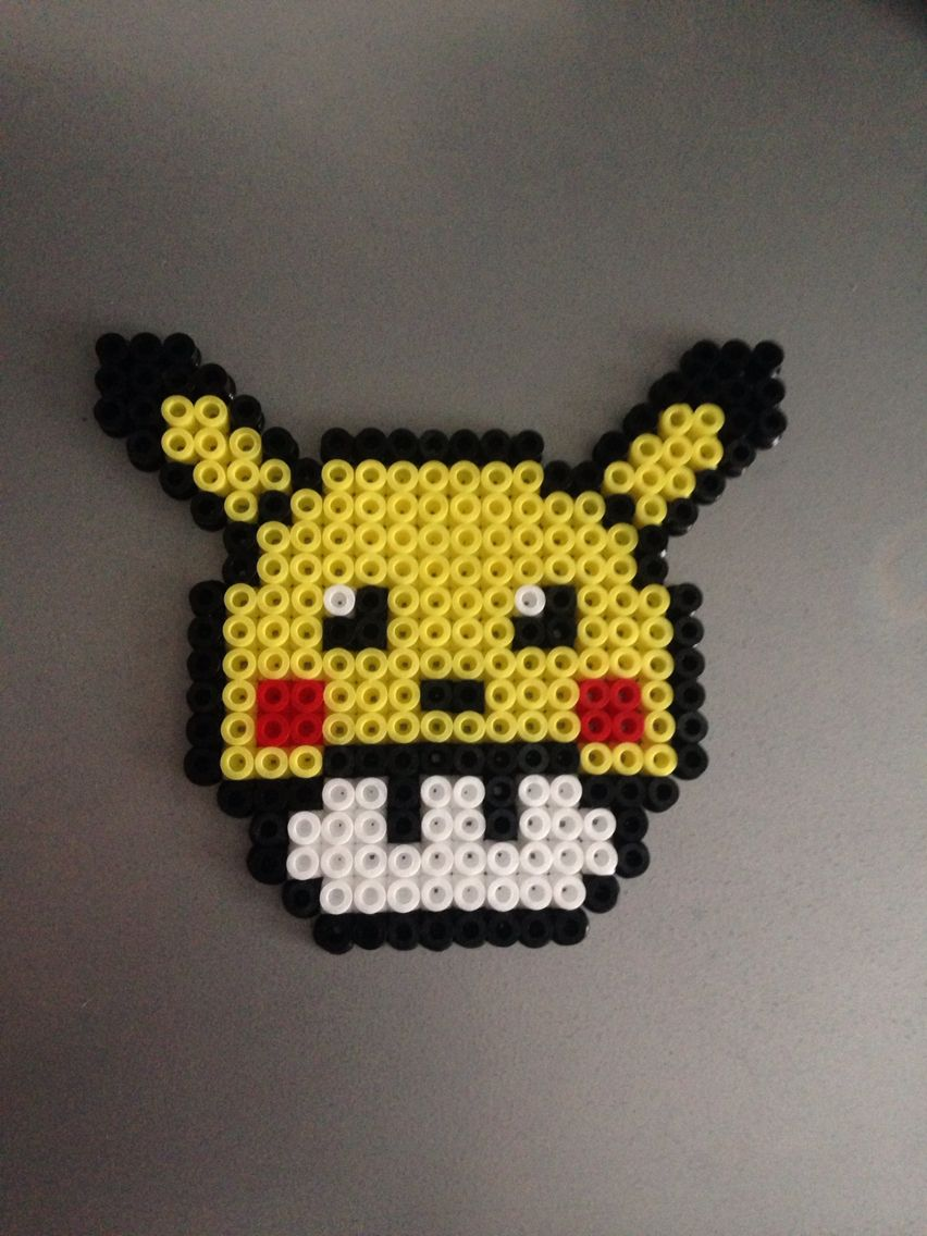 mushroom pikachu perles hama perler beads hama beans pyssla ikea pinterest llaveros. Black Bedroom Furniture Sets. Home Design Ideas