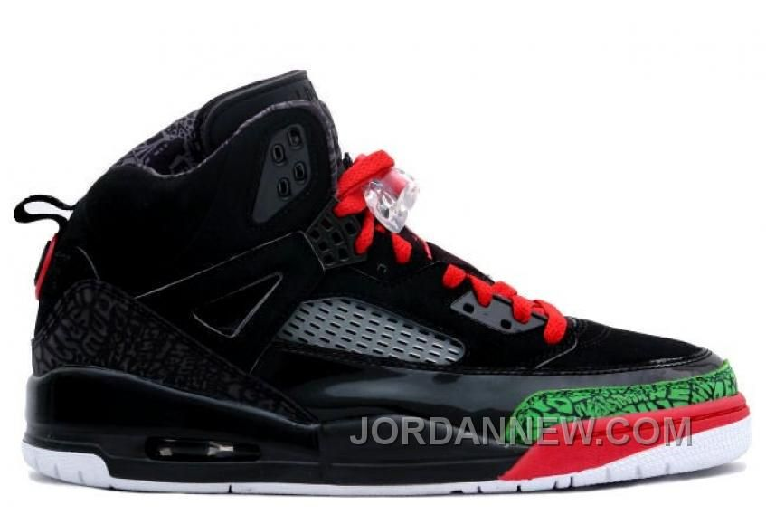 Cheap Buy Nike Air Jordan Spizike Black And Varsity Red-Classic Green  Sneaker Deals Store