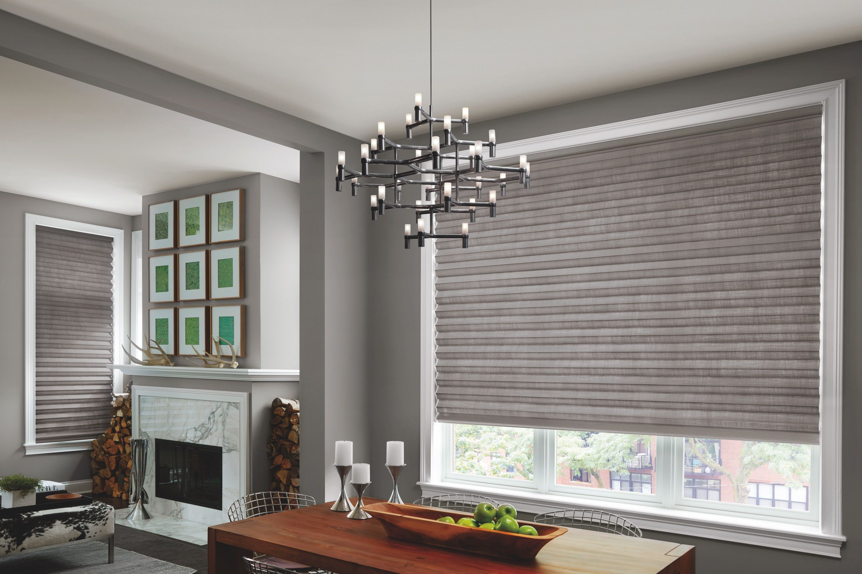 Love the look of these Solera Shades made by Hunter Douglas! They ...
