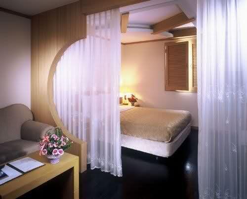 Unique Room Design on Incheon Hotel