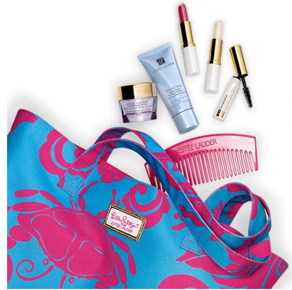 Summer Getaway Gift Free with any Estee Lauder Skincare or