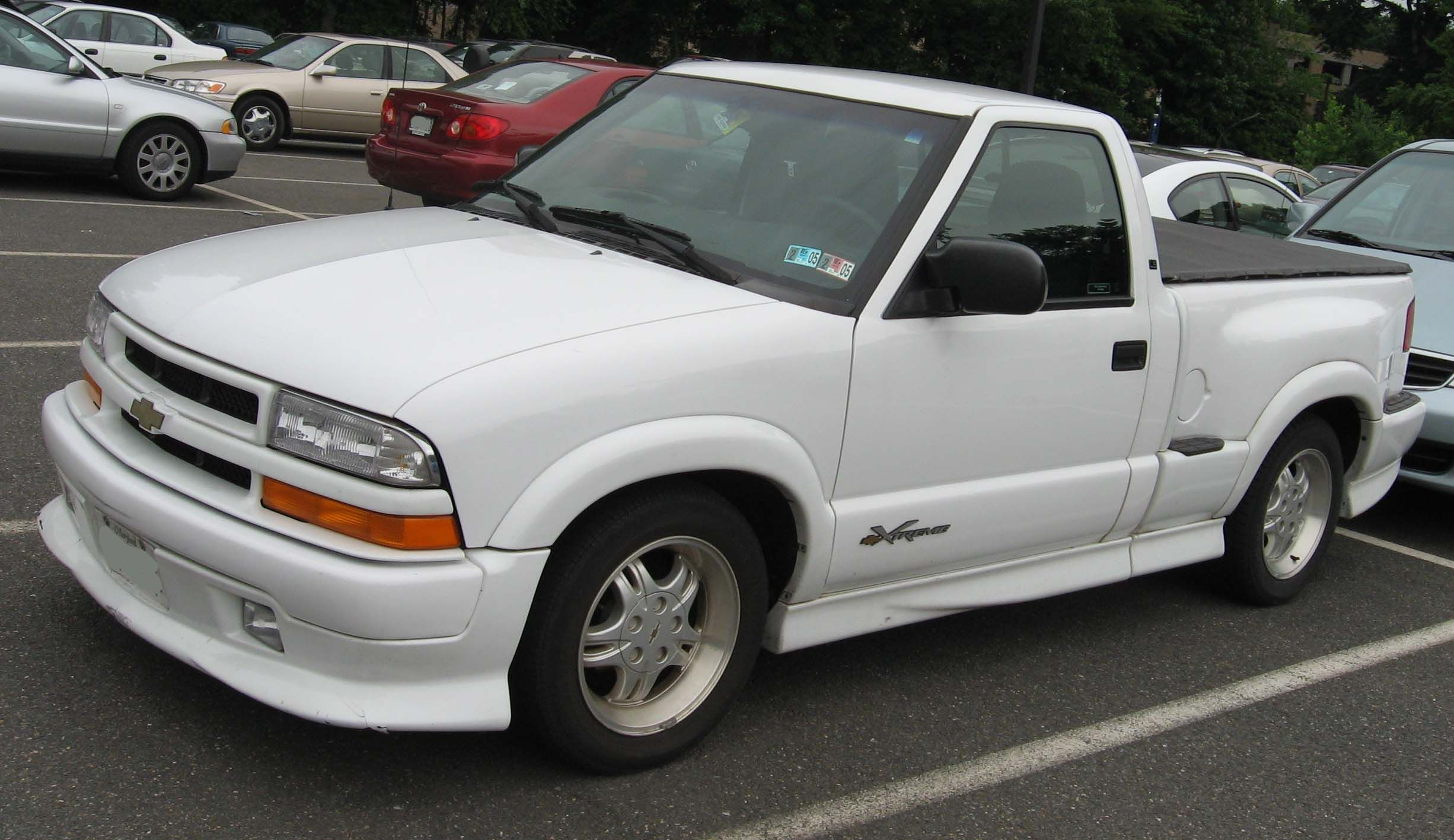 This was what my old princess truck looked like! That step