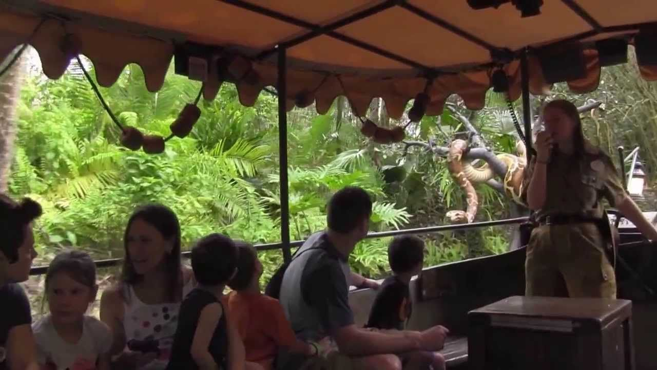Those puns were awesome. Disney Jungle cruise. Magic Kingdom.