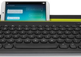 Logitech K480 Bluetooth Multi-Device Keyboard – instantly switch it to whatever gadget you have
