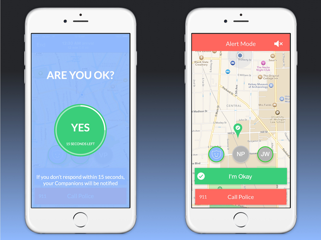 This App Lets a Friend Virtually Walk You Home App, Let