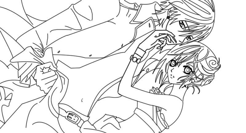 Vampire Knight Line Art Line Art Vampire Knight Art