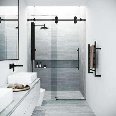 Pin By Ksh Ksh On Let S Update A Very Old Bathroom Frameless Sliding Shower Doors Sliding Shower Door Black Shower Doors
