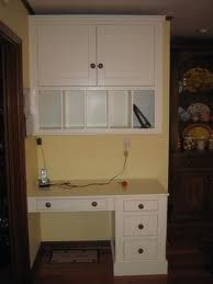 repurpose an old desk but removing one side of drawers and attaching on kitchen island cabinets, kitchen layout ideas google, kitchen counter desk, kitchen with corner desk area,