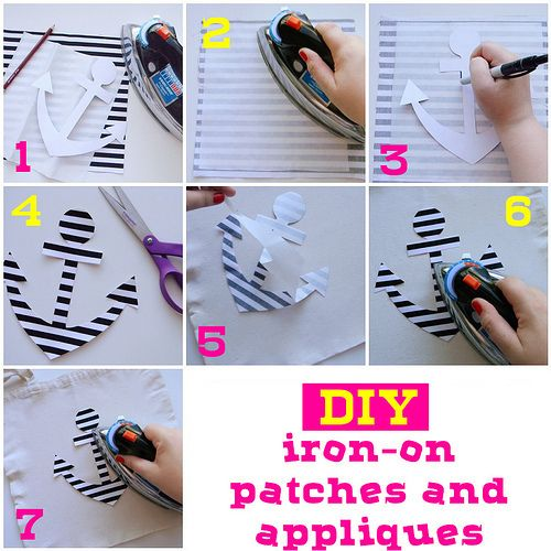 Diy Iron On Patches And Appliques | Free tutorials, Pictures and ...
