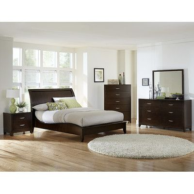 woodbridge home designs starling sleigh bed