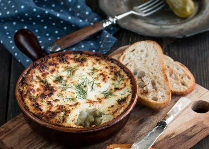 Brandade de maquereaux - Etape 1 : Préparer unpuréedepommesde terre classique. Etape 2 : Faire cuire les maquereaux au court bouillon, les laisser ...