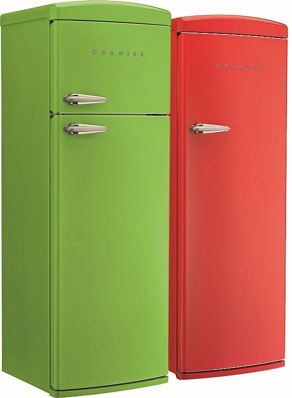Neue Farbenlehre: Retro-Standkühlschränke – jetzt auch schwarz wie ...