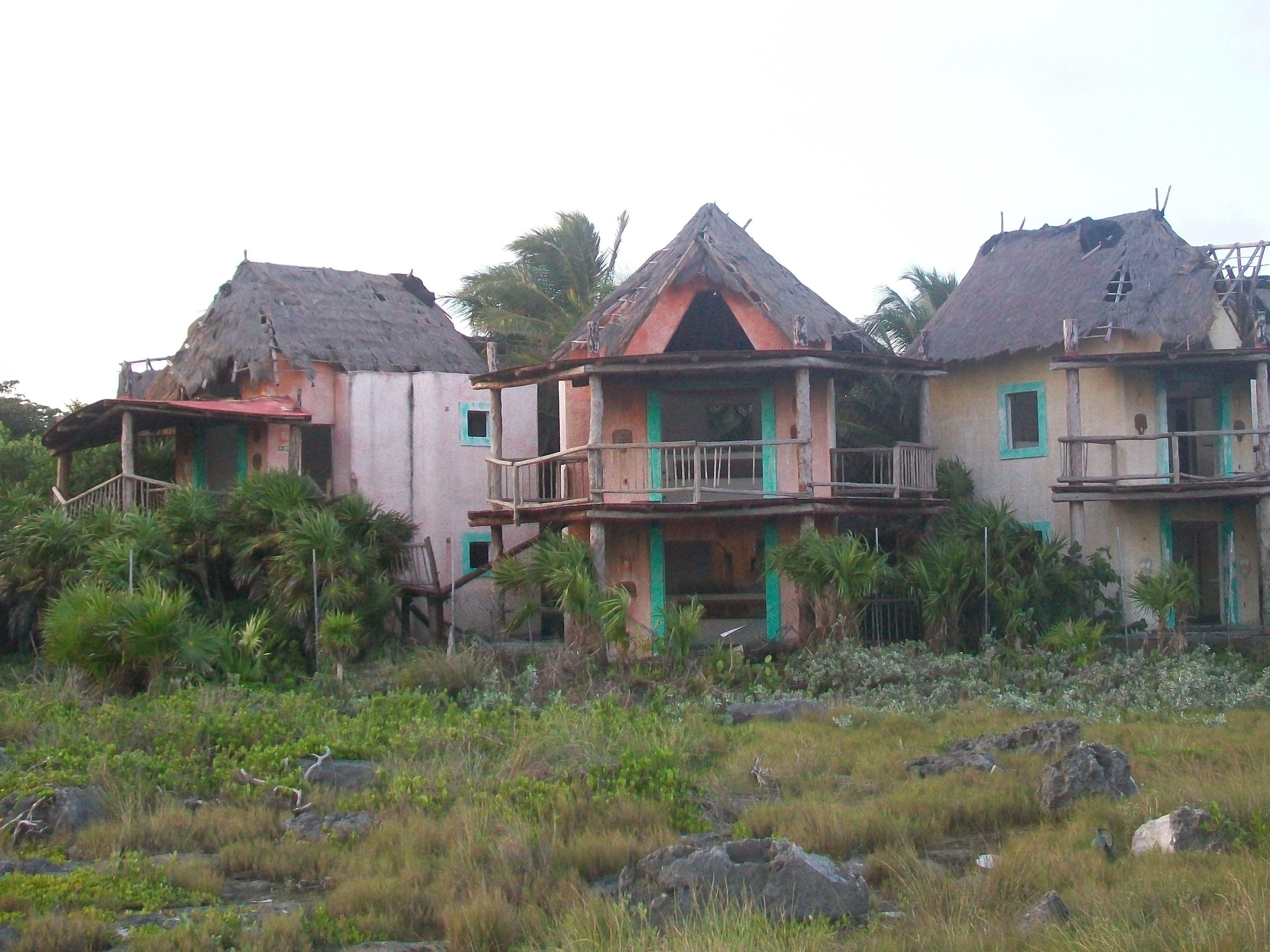 Abandoned Resort Riviera Maya Mexico