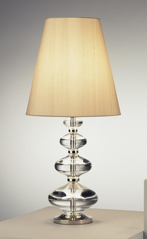 One light nickel table lamp 215l6 bright light design center