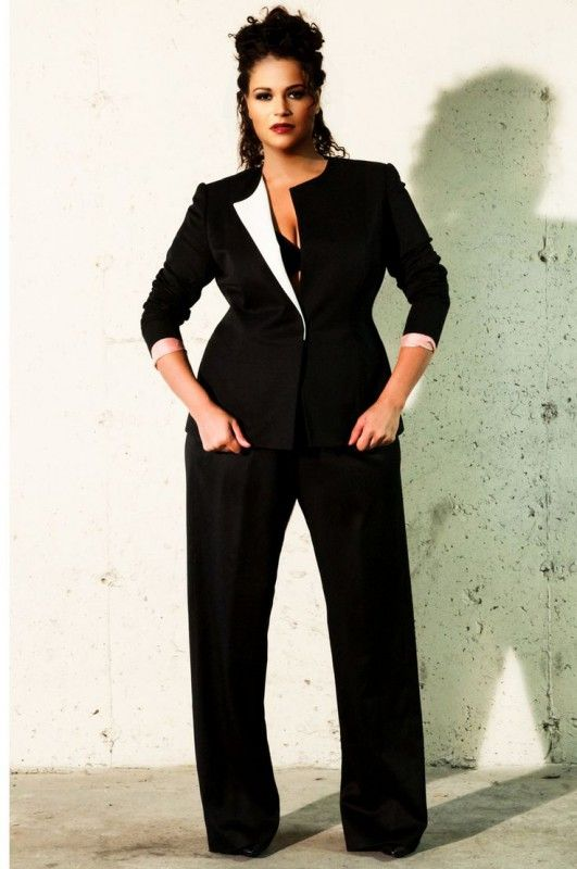 Plus Size Mother Of The Bride Pant Suits | Business chic, Classy ...