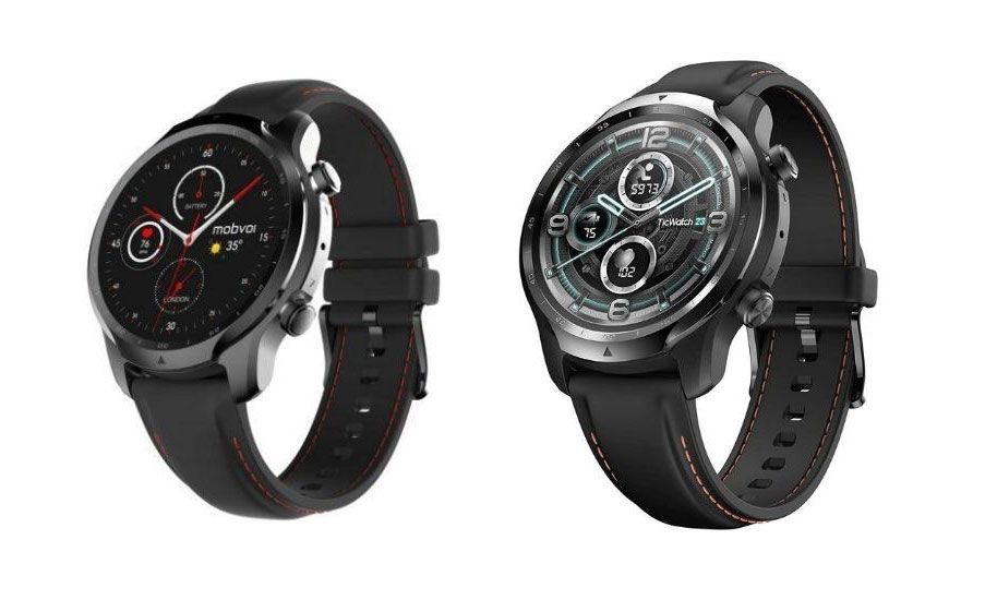 Ticwatch Pro 3 First Snapdragon Wear 4100 Smartwatch Available For Pre Order On Amazon Uk Smart Watch New Mobile Snapdragons