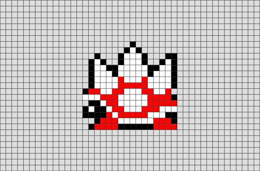Spike Shell Mario Pixel Art Pixel Art Pixel Art Templates