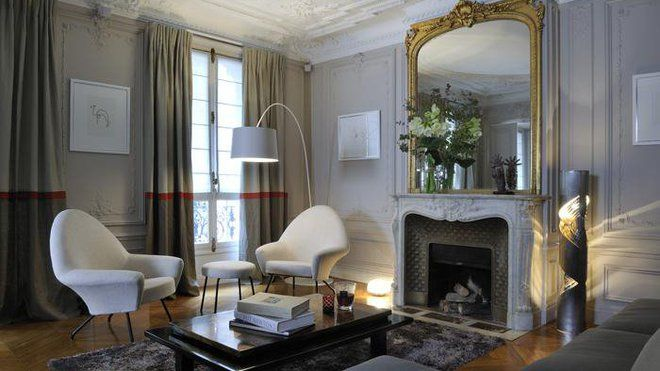 le style haussmannien r visit par alison boardman. Black Bedroom Furniture Sets. Home Design Ideas