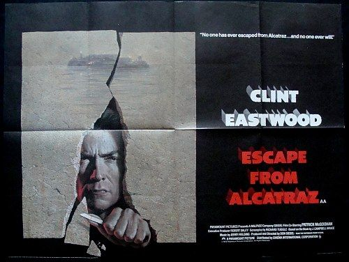 Escape From Alcatraz Movie Posters Original And Vintage Movie