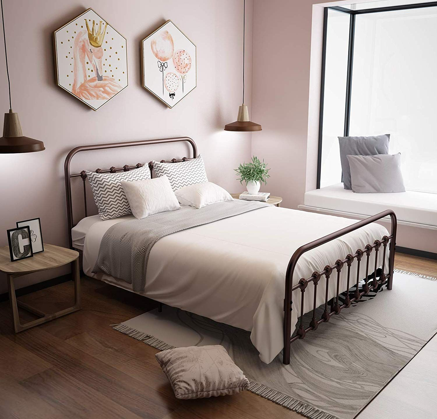 Urodecor Metal Bed Frame With Headboard And Footboard Mattress Foundation The Country Style Iro Bed Frame And Headboard Metal Bed Frame Headboard And Footboard