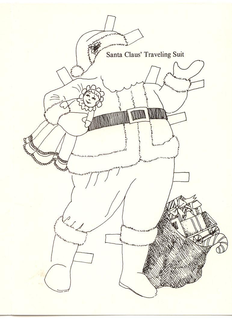 noel santa claus greeting card