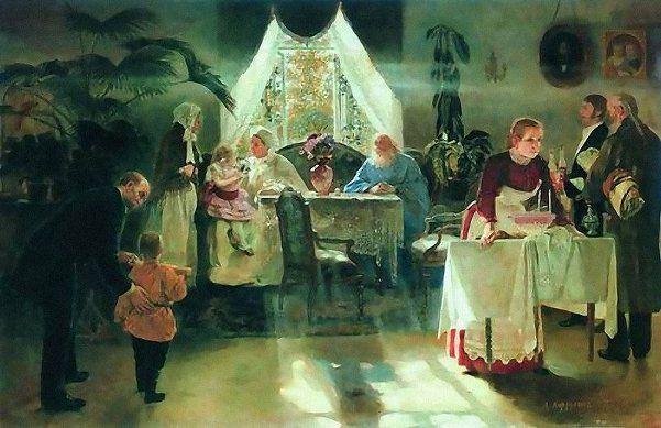 Grandma Holiday  Alexei Ivanovich Korzukhin