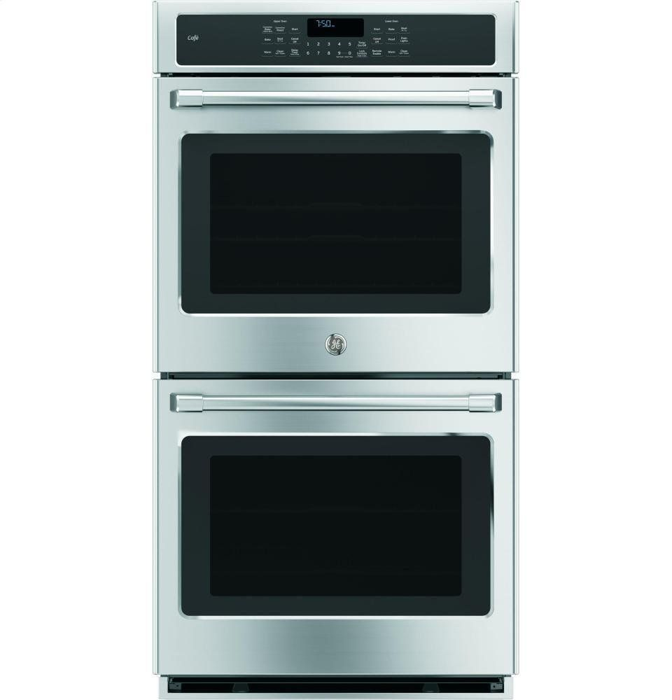 Ge Ck7500shss Cafe 27 Stainless Steel Electric Double Wall Oven