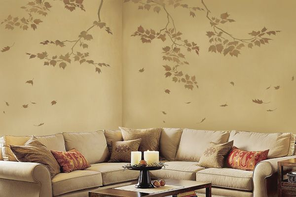 Wall painting | Sisustus | Pinterest | Living room paint colors ...