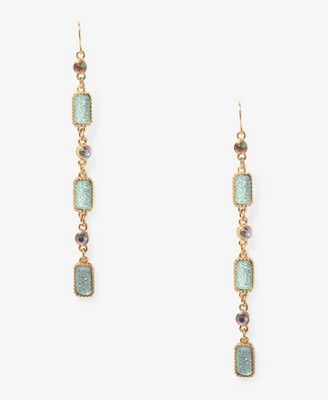 Sparkling Chain Drop Earrings Forever 21 Lovely For New Years Outfit