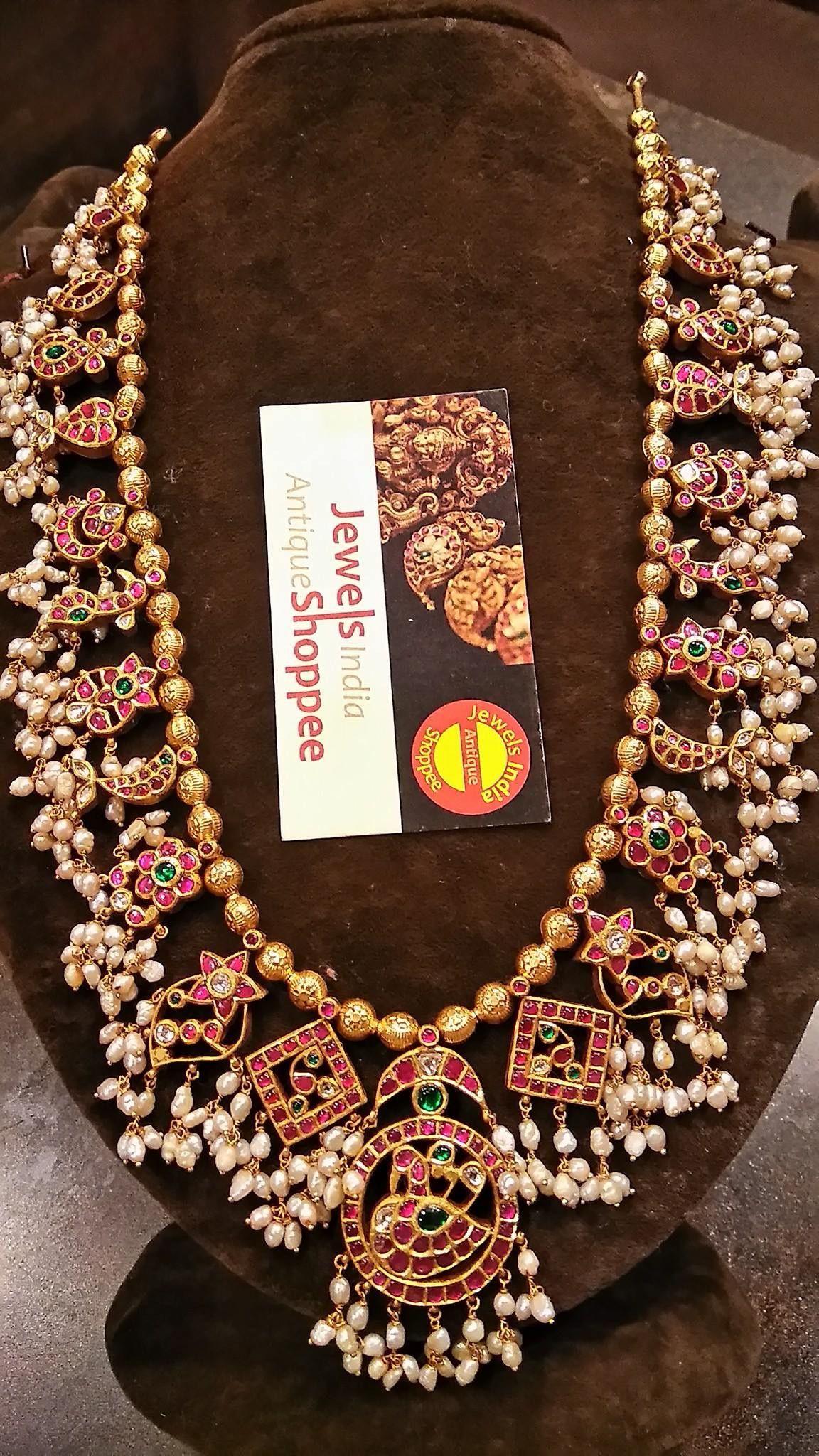 Pin by Prashanthi on Indian Jewellery Pearl jewelry