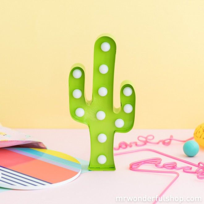 Cactusmrwonderfulshopgreencactuslight Lámpara Lámpara LED Lámpara LED Cactusmrwonderfulshopgreencactuslight H2WDIYE9