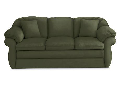 Dark Sage Green Couch And Loveseat