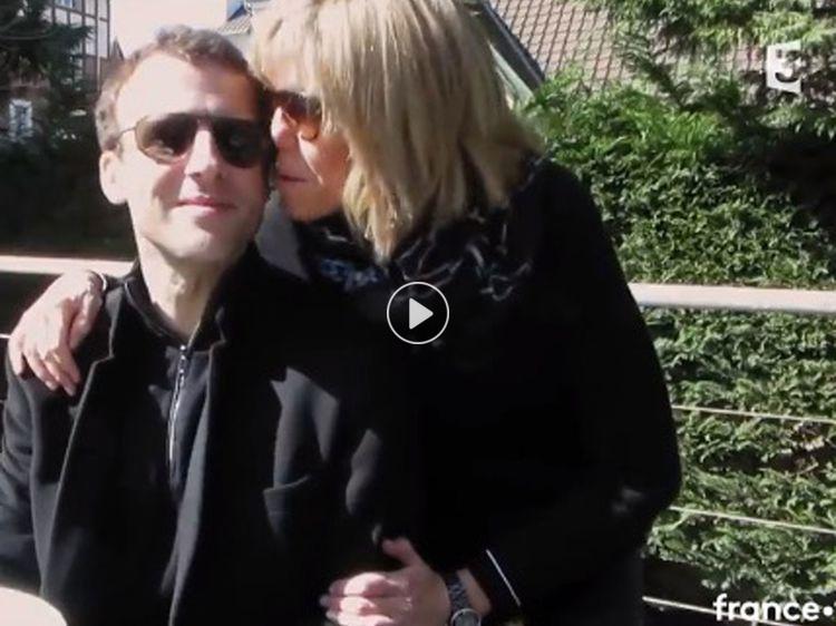 Brigitte Macron explique comment elle est tombée sous le