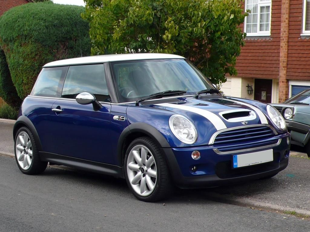 2007 Mini Cooper Blue Thought Id Show You A Couple Of Pics Of My