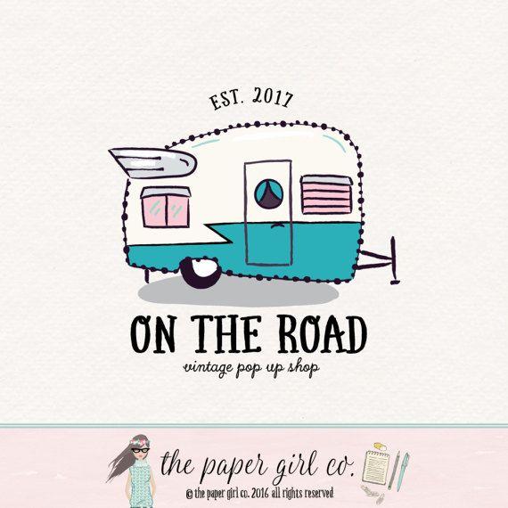 d8f59952ab shasta caravan logo pop up shop logo vintage by ThePaperGirlCo ...