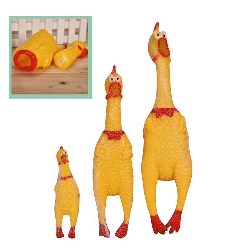 17cm 31cm 39cm New Arrival Screaming Chicken Squeeze Sound Toy